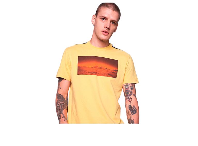 Camiseta estampada AM D