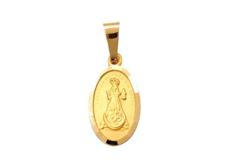 Medalla de la Virgen del Cisne