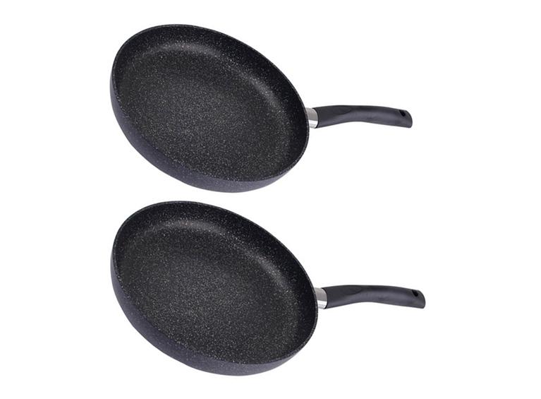 Set de 2 sartenes black