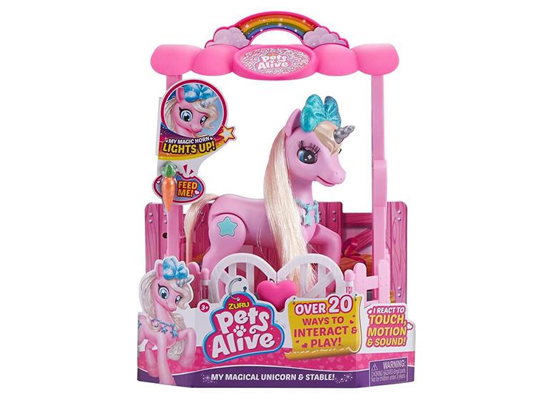 Play Set unicornio pets alive