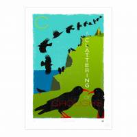 MinaLima - A Clattering of Choughs<br>プリント