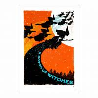 MinaLima - A Coven of Witches Print