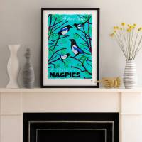 MinaLima - A Tiding of Magpies - Boy Print