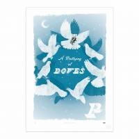 MinaLima - A Prettying of Doves Print