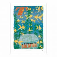MinaLima - A Troubling of Goldfish Print