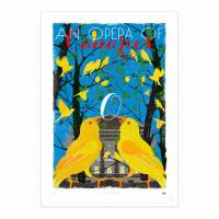 MinaLima - An Opera of Canaries Print