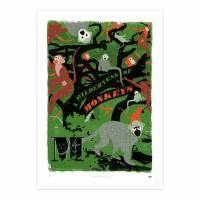MinaLima - An Embarrassment of Pandas Print
