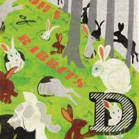 MinaLima - A Down of Rabbits Print