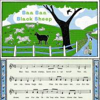 MinaLima - Baa Baa Black Sheep - Nursery Rhyme Print
