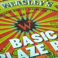 MinaLima - Wildfire Wiz-Bangs from Weasleys' Wizard Wheezes Print