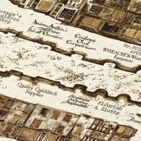 MinaLima - Map of Diagon Alley Print