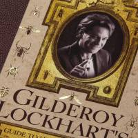 MinaLima - Travels with Trolls - Gilderoy Lockhart Print