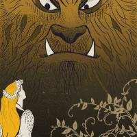 MinaLima - The Beauty and the Beast - The Beast Print