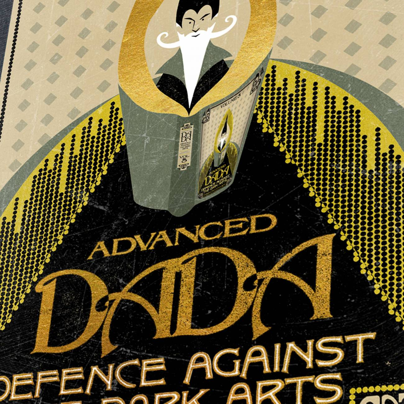 Defence Against The Dark Arts 1913 Edition Print Minalima