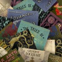 MinaLima - Book Covers from Hogwarts Postcards