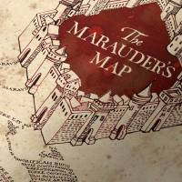 MinaLima - Map of Hogwarts Poster
