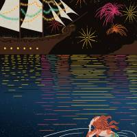 MinaLima - The Little Mermaid - The Fireworks Print