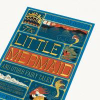MinaLima - The Little Mermaid - The Little Mermaid and Other Fairy Tales Cover Print