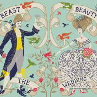 MinaLima - The Beauty and the Beast - The Wedding Print