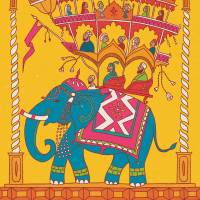 MinaLima - The Jungle Book - Mowgli Meets The Monkeys Print