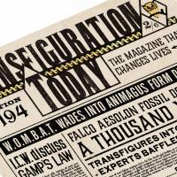 MinaLima - Transfiguration Today - 'Transformation Nation' Print