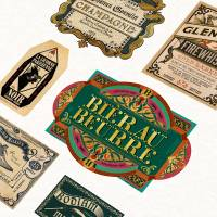 MinaLima - Wizarding Packaging Print
