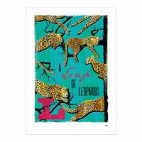 MinaLima - A Leap of Leopards Print