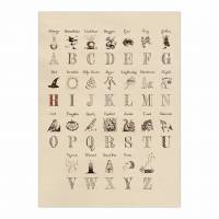 MinaLima - Harry's Alphabet Poster