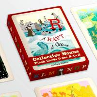 MinaLima - A Raft of Otters - Flash Cards