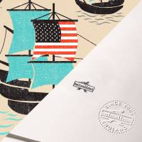 MinaLima - A Mayflower of Americans Print