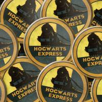 MinaLima - Hogwarts Luggage Label Badge
