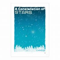 MinaLima - A Constellation of Stars - Cancer<br>プリント