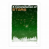 MinaLima - A Constellation of Stars - Capricorn<br>プリント