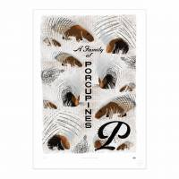 MinaLima - A Family of Porcupines Print