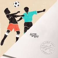 MinaLima - A Coach of Footballers Print