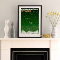 MinaLima - A Constellation of Stars - Capricorn Print