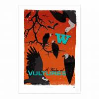 MinaLima - A Wake of Vultures Print