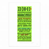 MinaLima - Weasleys' Wizard Wheezes Advert Print