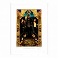 MinaLima - Fantastic Beasts Special Release Poster II Print