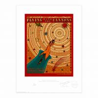 MinaLima - Flying with the Cannons Print
