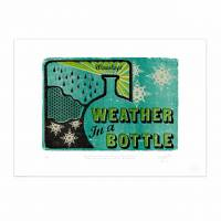 MinaLima - Weather In A Bottle Print