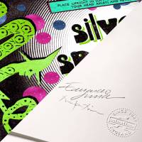 MinaLima - Silver Sparkling Snakes from Weasleys' Wizard Wheezes Print