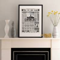 MinaLima - The New York Ghost - 'Is Anyone Safe?' Print