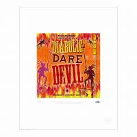 MinaLima - Diabolic Dare Devil from Weasleys' Wizard Wheezes Print