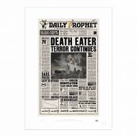 MinaLima - The Daily Prophet - 'Death Eater Terror Continues' Print