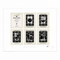 MinaLima - Pages from 'The Tales of Beedle the Bard' Print
