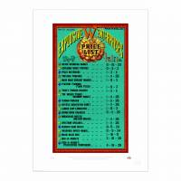 MinaLima - Fireworks Price List from the Weasleys' Print