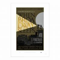 MinaLima - 'When Broadway Sleeps' プリント