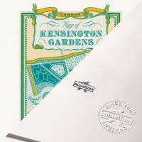 MinaLima - Peter Pan - Map of Kensington Gardens Print