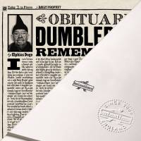 MinaLima - The Daily Prophet - Albus Dumbledore's Obituary Print